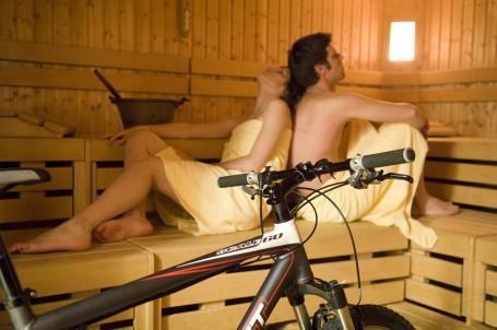 Un pò di relax dopo un bel giro in Mountain Bike