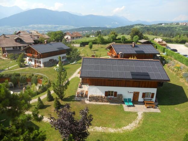I tetti solari integrati del nostro resort