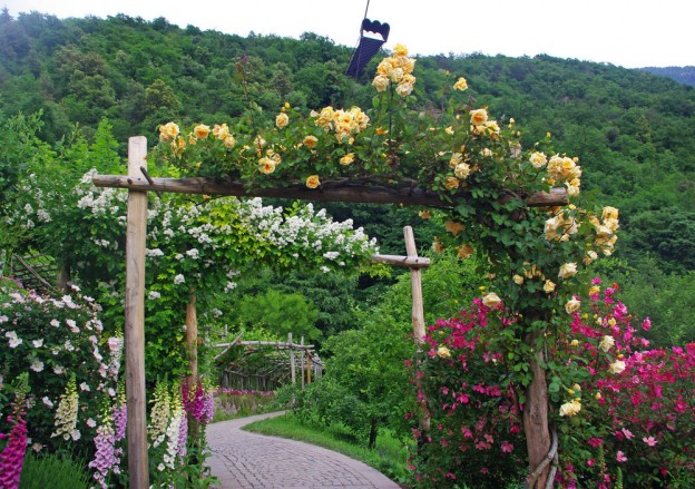 Benvenuti nei lussureggianti e variopinti Giardini di Castel Trauttmansdorff!
