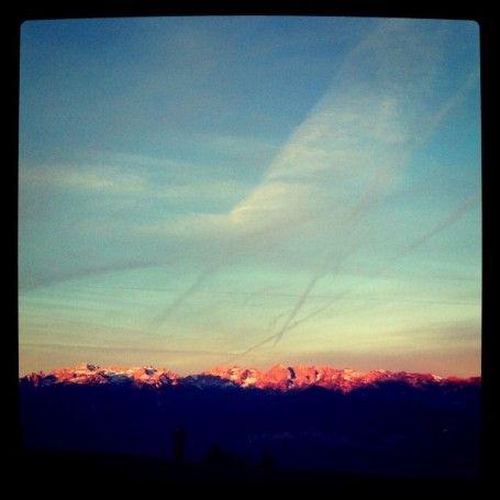 Dolomiti di Brenta al mattino