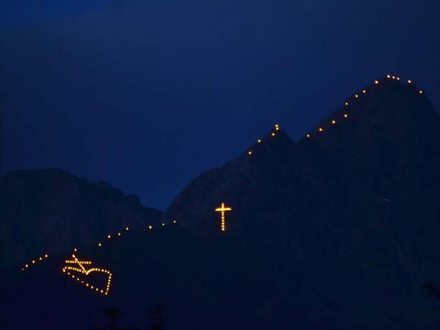 I fuochi del sacro cuore in Trentino alto Adige