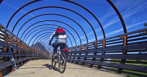 ponte ciclabile Val di Non a Malgolo