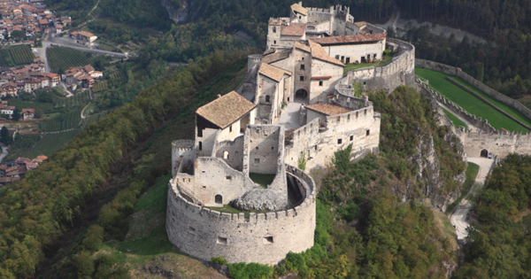 largest castles in Trentino