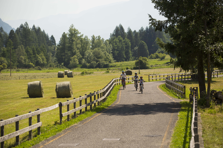 bici più treno da provare in val di non
