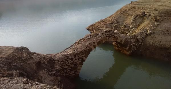 ponte della mula lago di santa giustina
