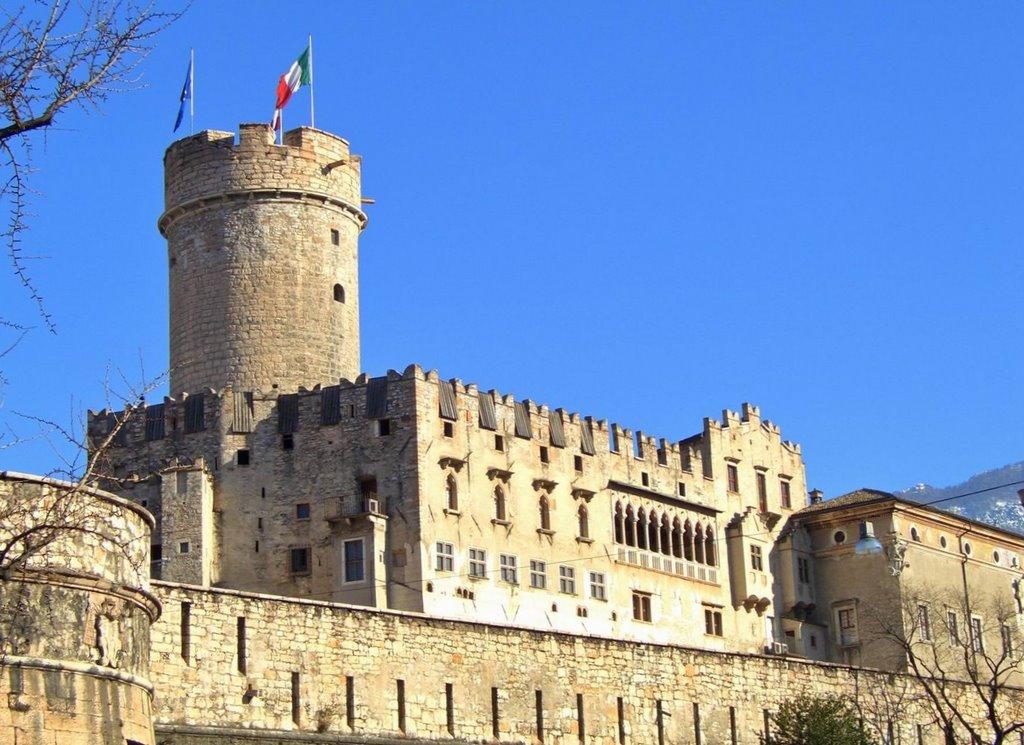scorcio del castello del Buonconsiglio