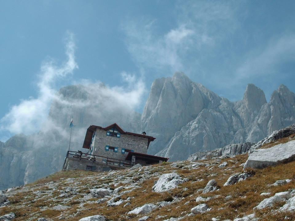 Rifugio Agostino in Val d'Ambiez