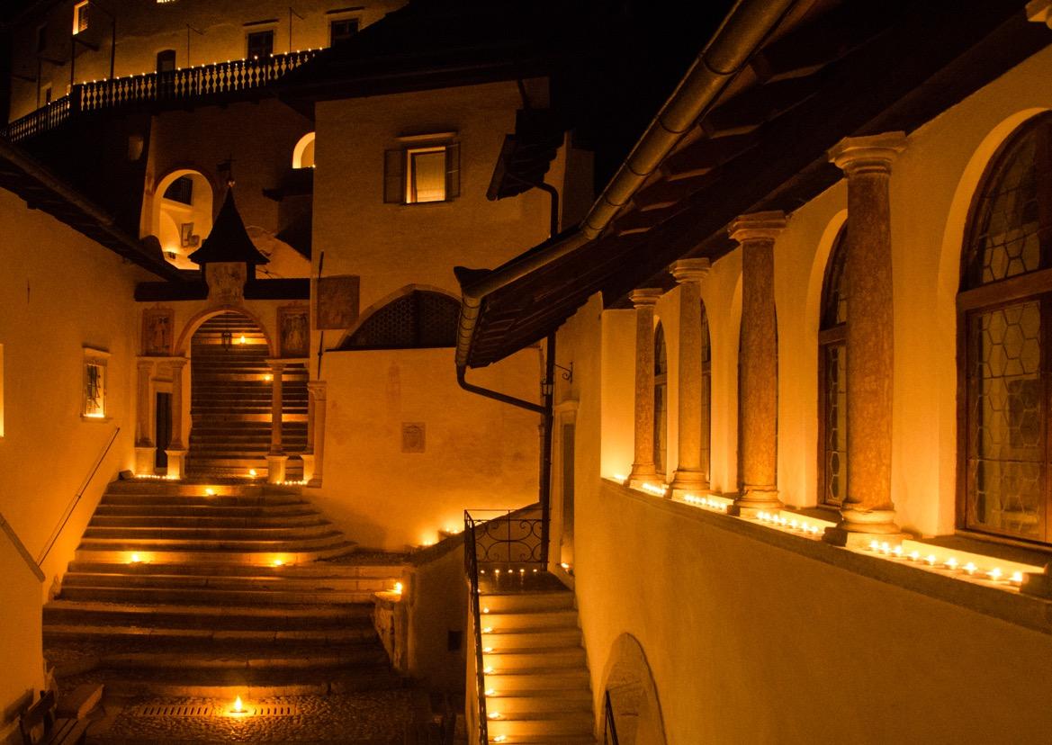 San Romedio by Night