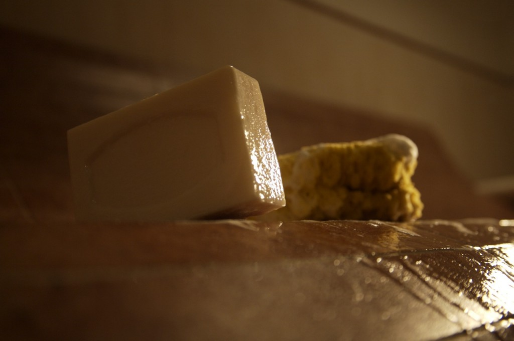 Scrub in bagno turco