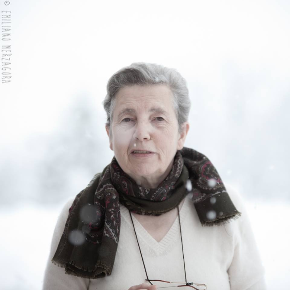La nostra cara zia Elda, la sorella che ha lavorato sempre qui con noi al Pineta e lo ha reso come lo conoscete