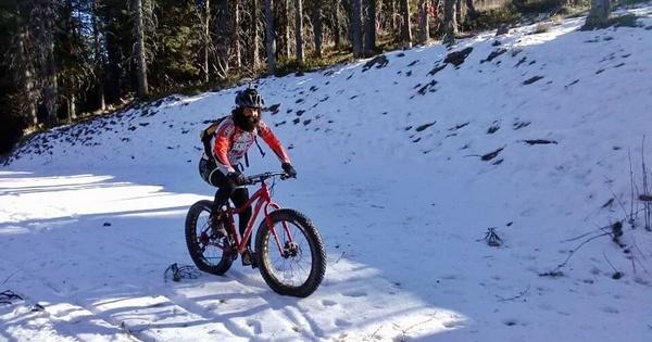 Fat bikes sulla neve
