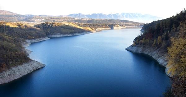 Lago di Santa Giustina Val di Non