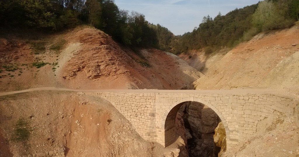 ponte strada dei regali lago di santa giustina