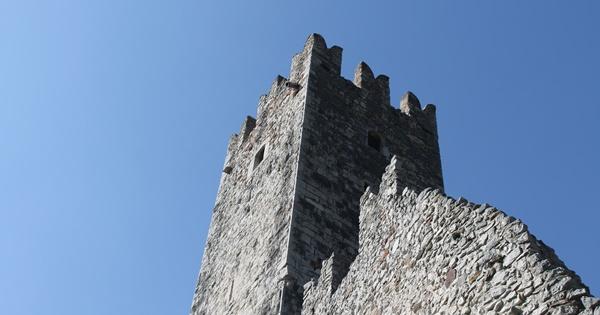 torre castel drena garda