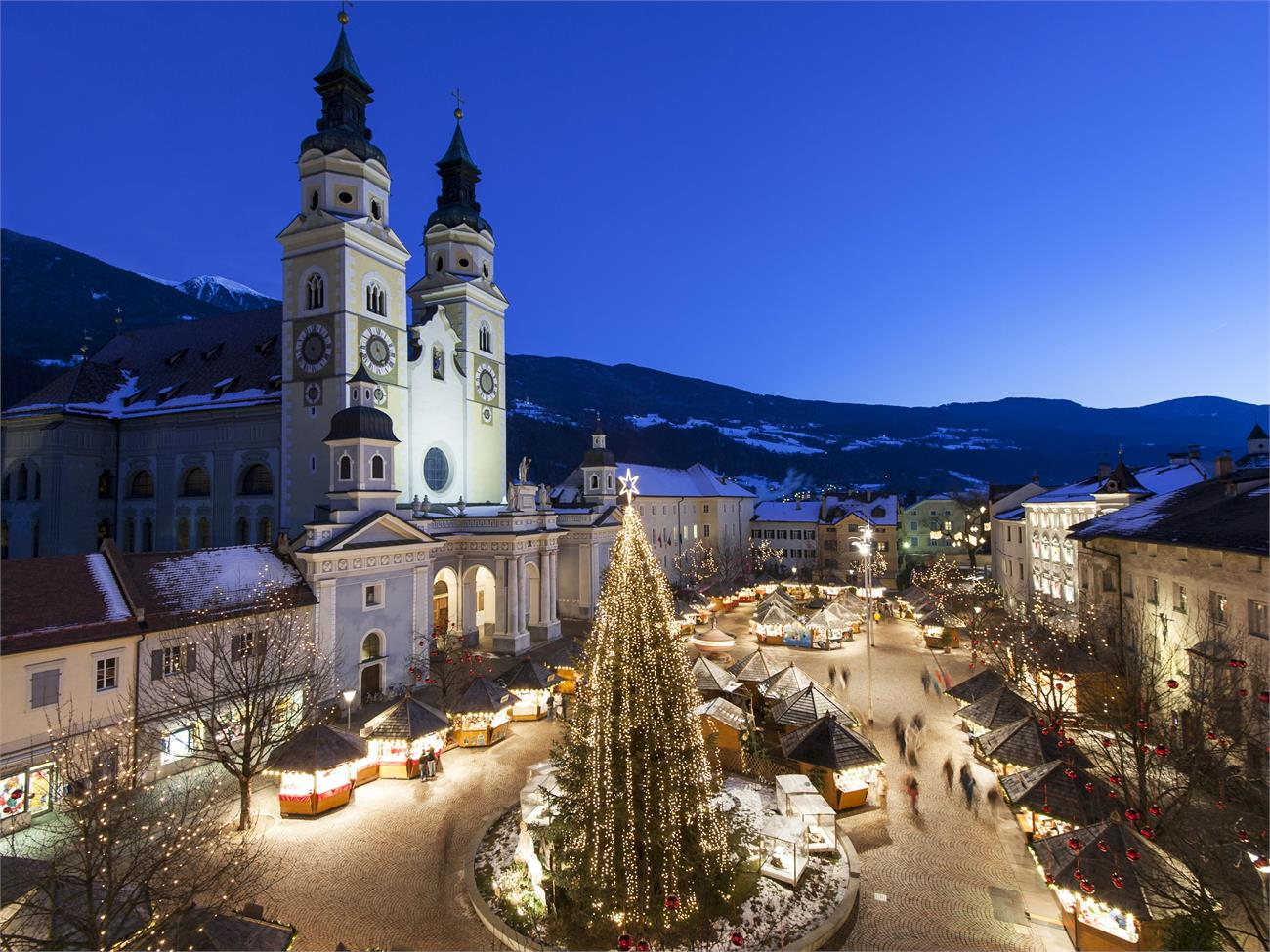 Christmas Market in Bressanone (Brixen) is one of the most suggestive in Europe