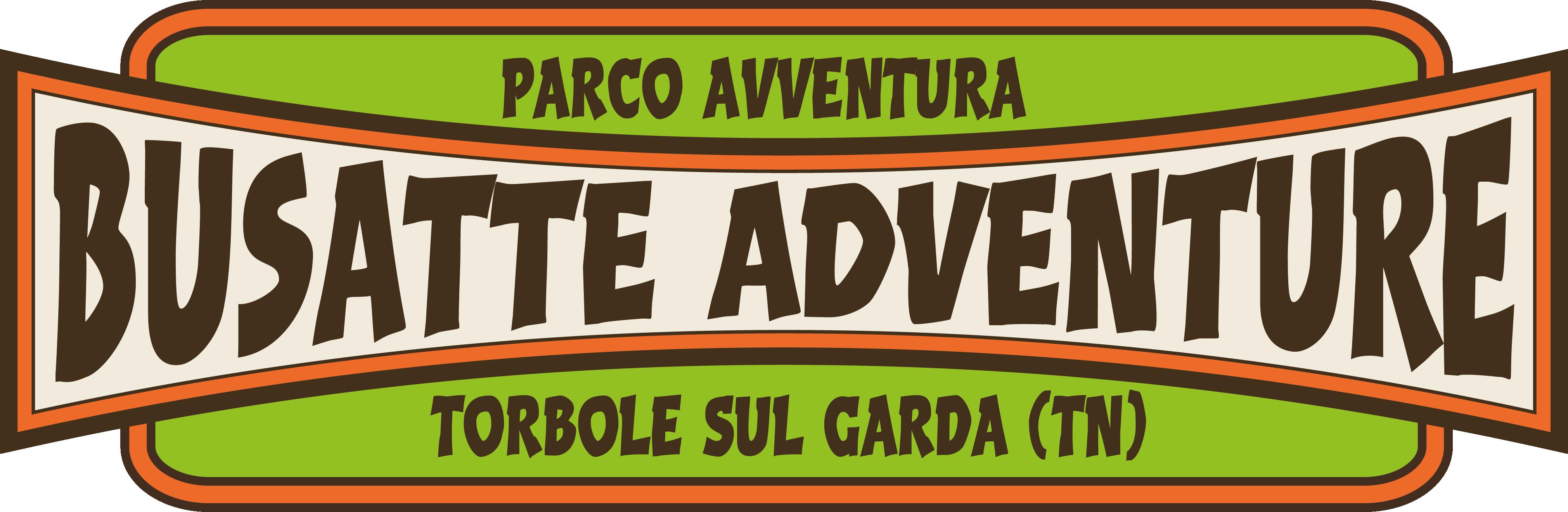 Logo del Busatte Adventure Park a Torbole sul Garda