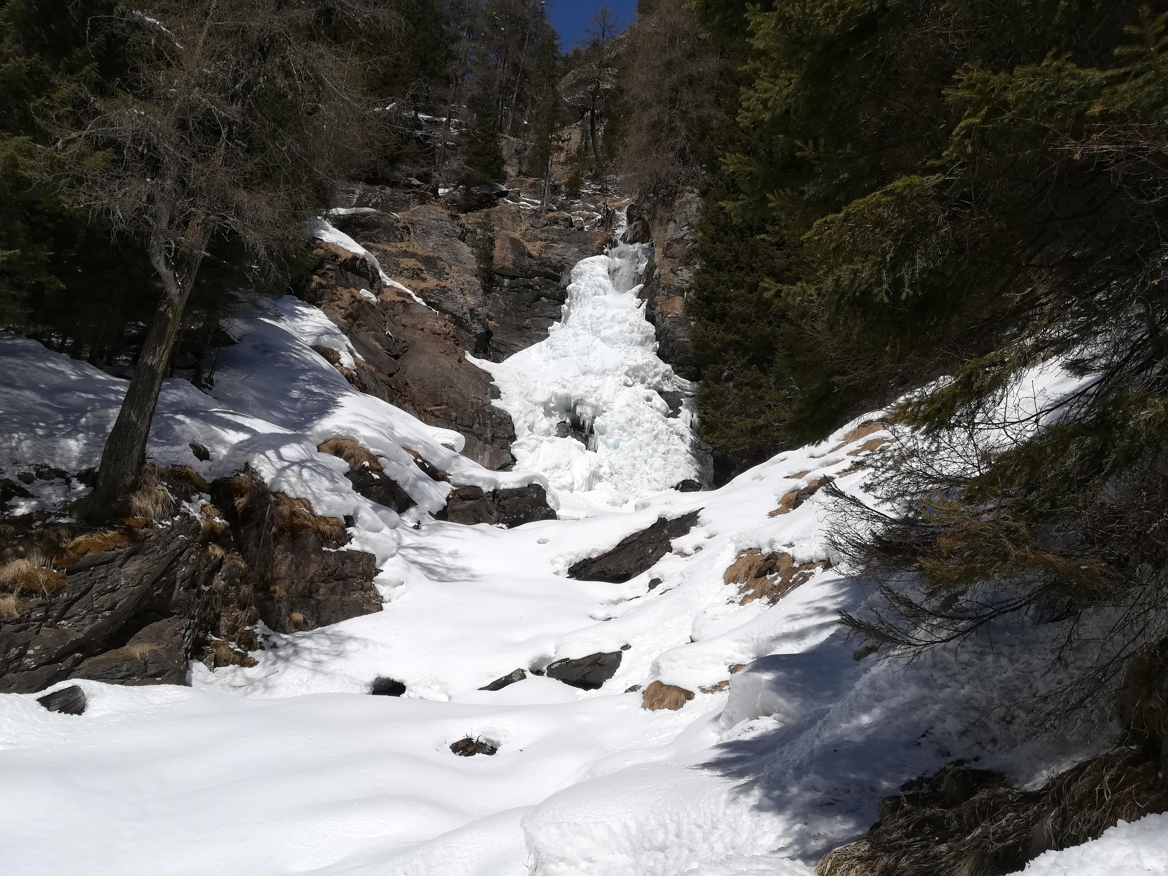 Scenario delle Cascate del Saent (foto RT)
