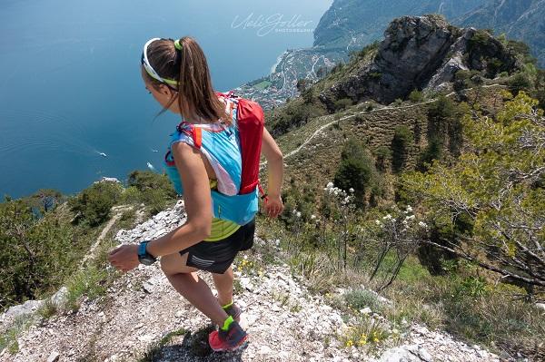 Trekking a picco sul Lago di Garda