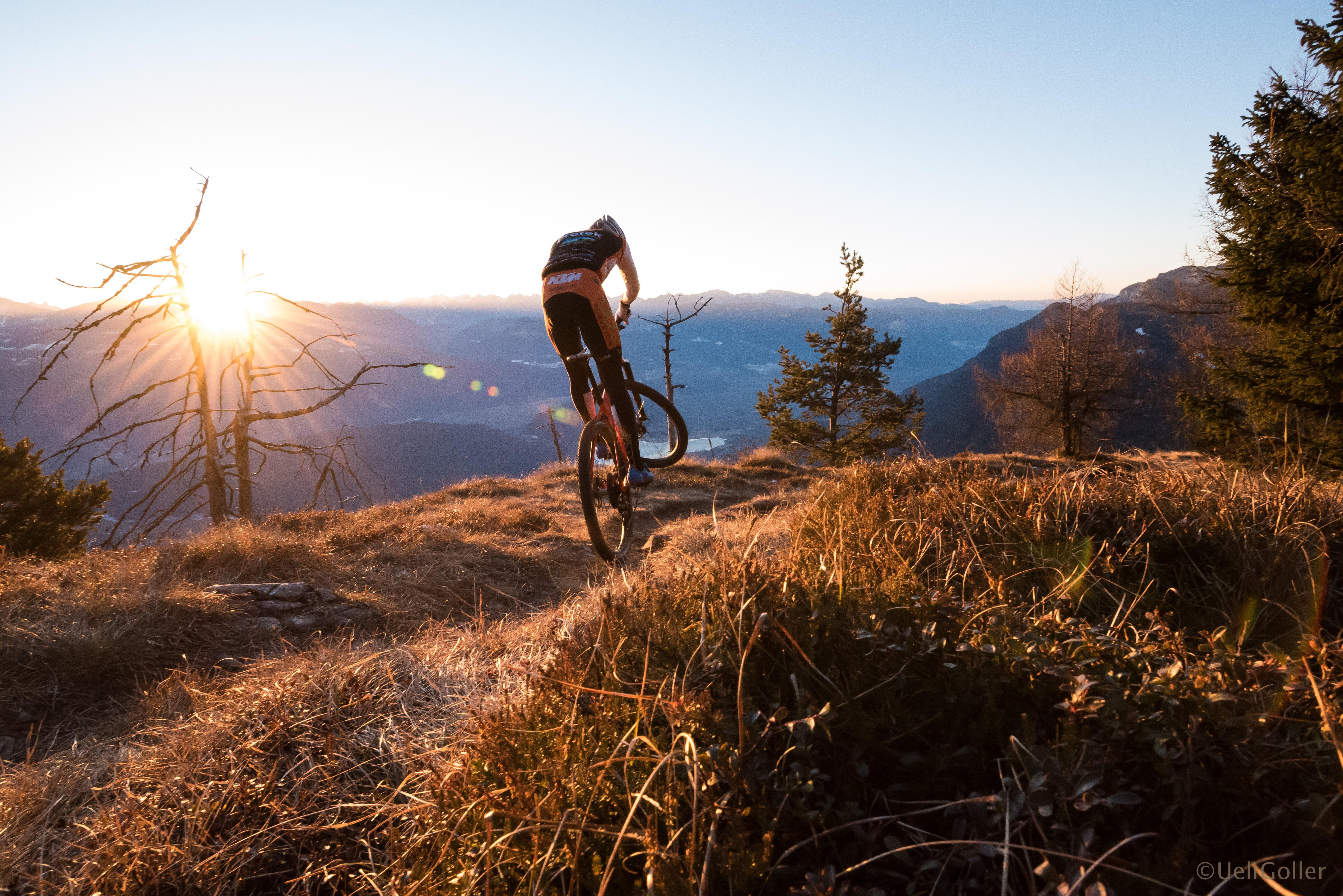 Mountain bike in Predaia