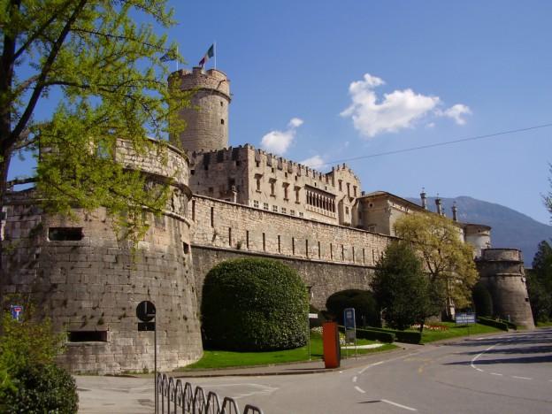 Immagine del Castello del Buonconsiglio, location presso cui si terranno svariati eventi