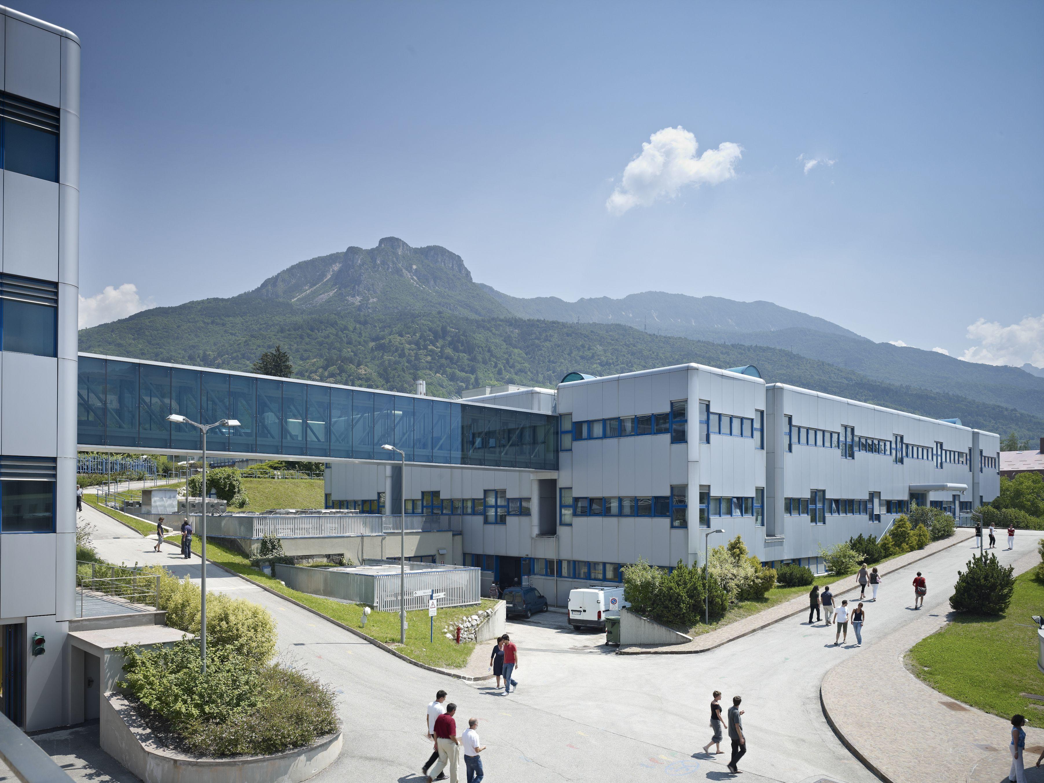Sede della Fondazione Bruno Kessler (FBK) a Trento (website legacy.fbk.eu)