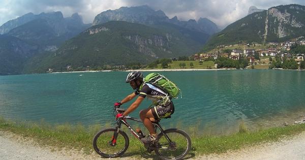 lago di Molveno in bici