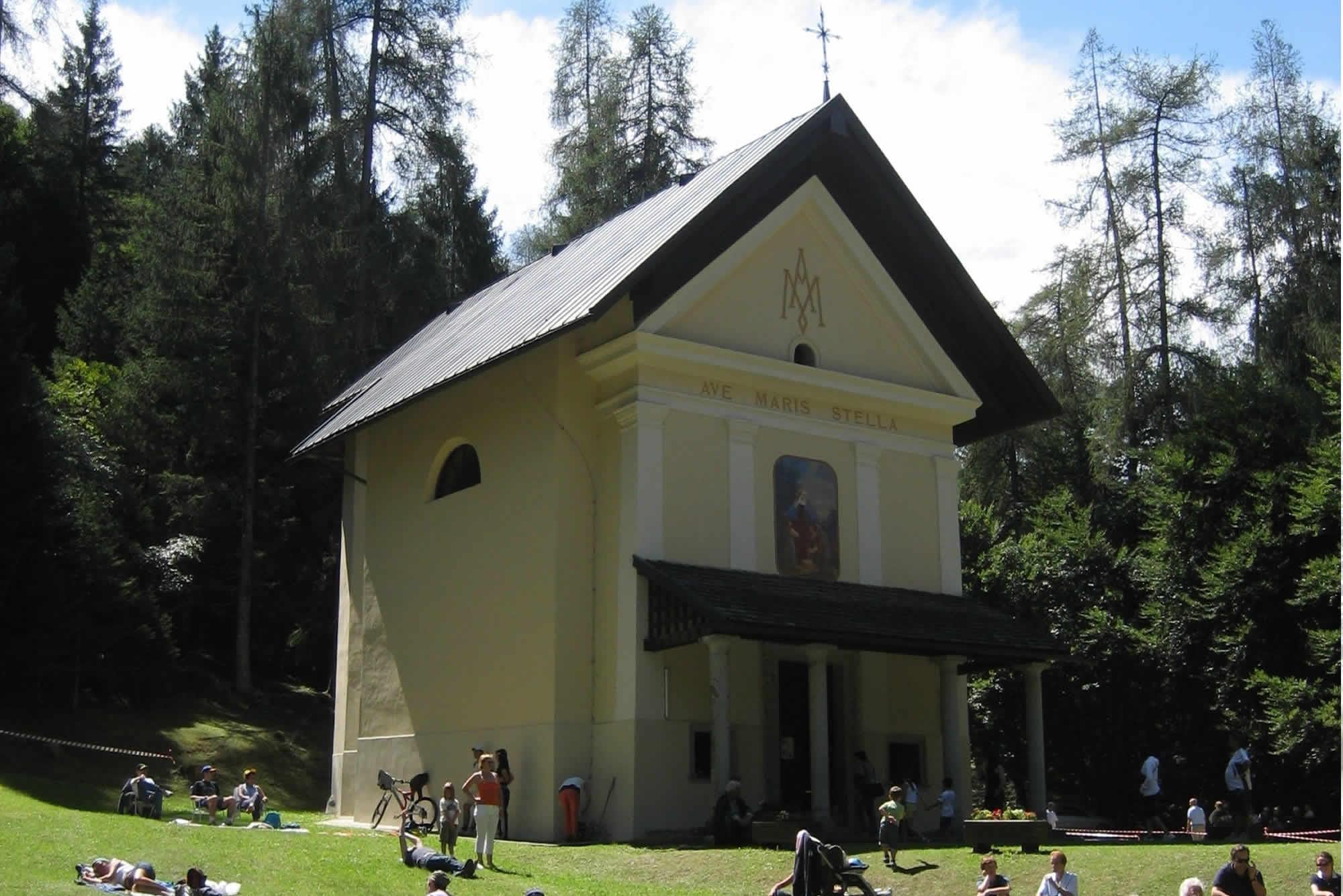 Il Santuario della Madonna del Lares a Bolbeno