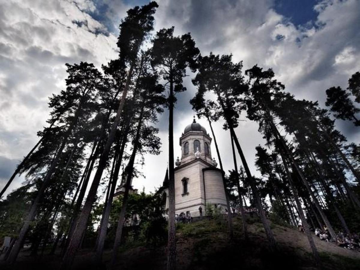Il santuario della Comparsa di Montagnaga di Pinè