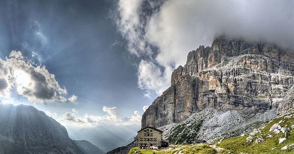 mountain huts Brenta Dolomites