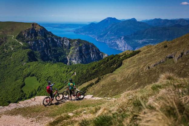 Panorama dalle Dolomiti al Garda Trentino