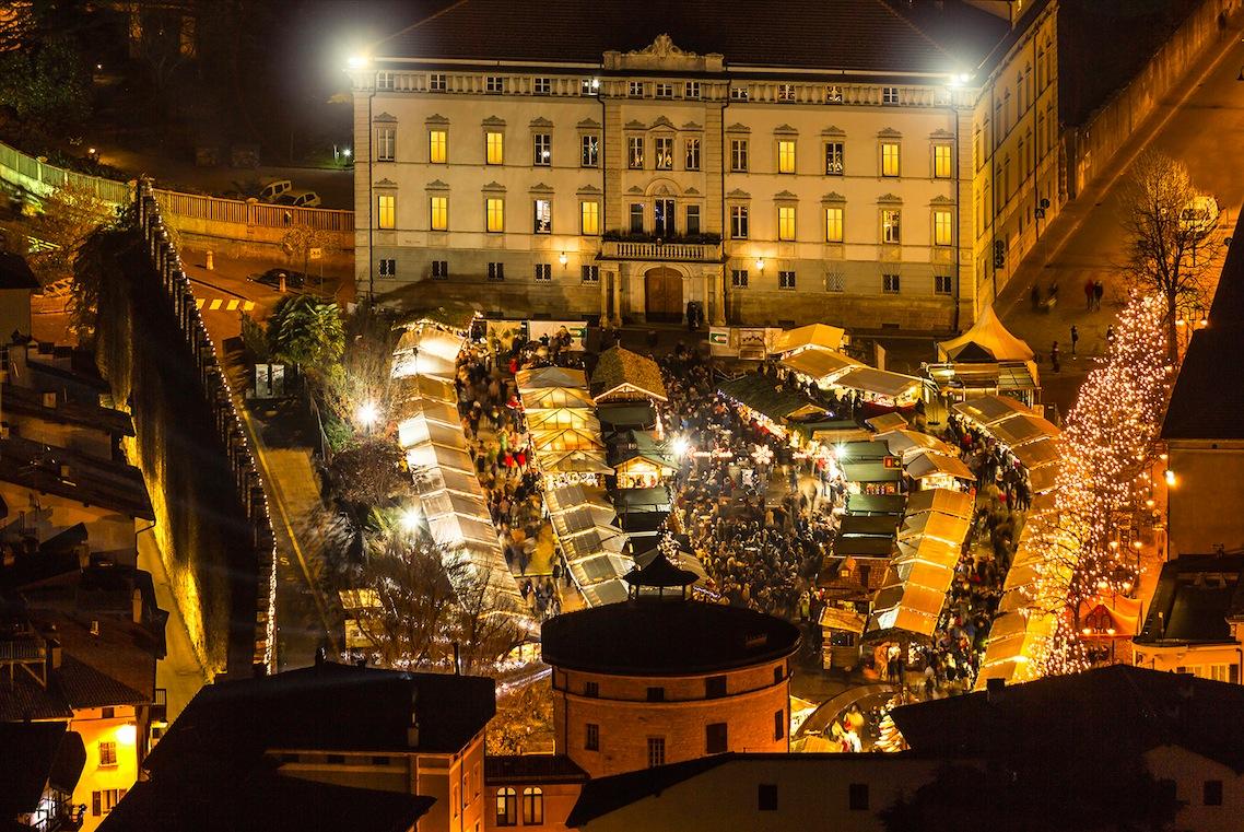 I mercatini di Natale a Trento sono tra i più suggestivi in assoluto!