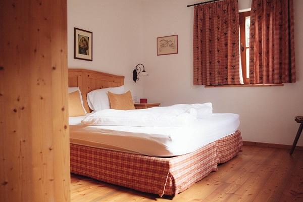Immagine della stanza da letto dello chalet Nocciolo