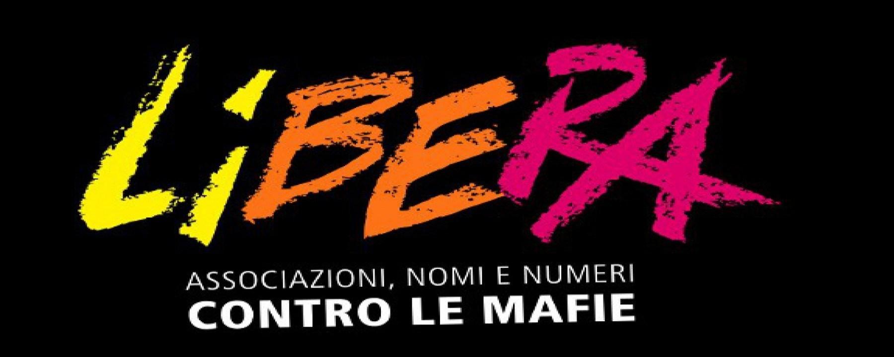 Logo di Libera, l'associazione fondata da don Ciotti nel 1995 per combattere le mafie e ricordare le vittime innocenti di questa terribile piaga sociale