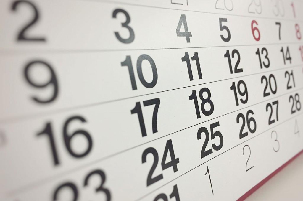 Calendario 2020 Con Numero Delle Settimane.Giornate Mondiali 2020 Calendario Date E Programma Eventi