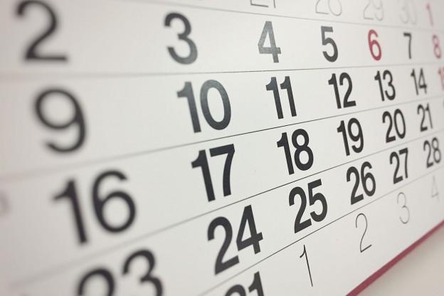 Foto del calendario delle giornate mondiali