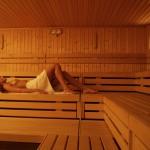 Relax nella sauna finlandese
