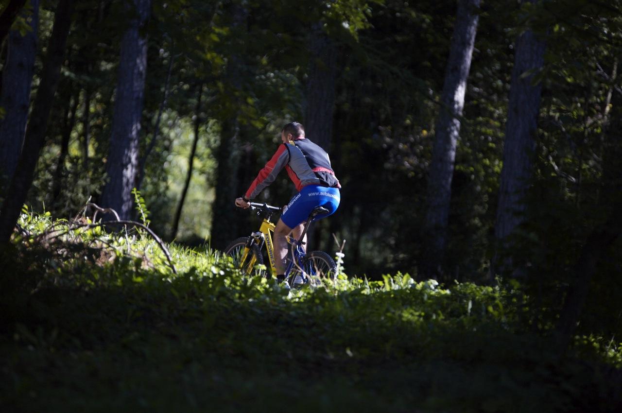 Ogni settimana puoi partecipare a due escursioni in Mountain Bike o in MTB Elettrica