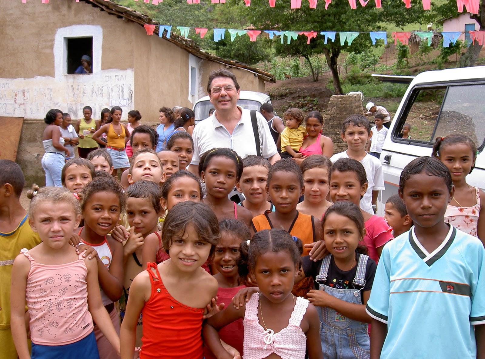 """Luis """"Gigetto"""" Zadra e la sua comunità in Brasile"""