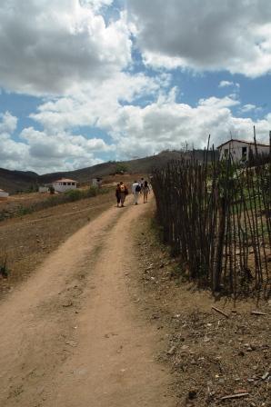 Siamo arrivati al villaggio del Matao