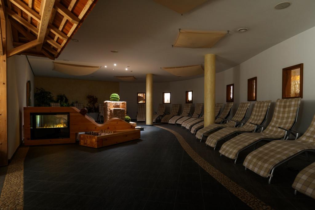 Zona Relax della Sauna