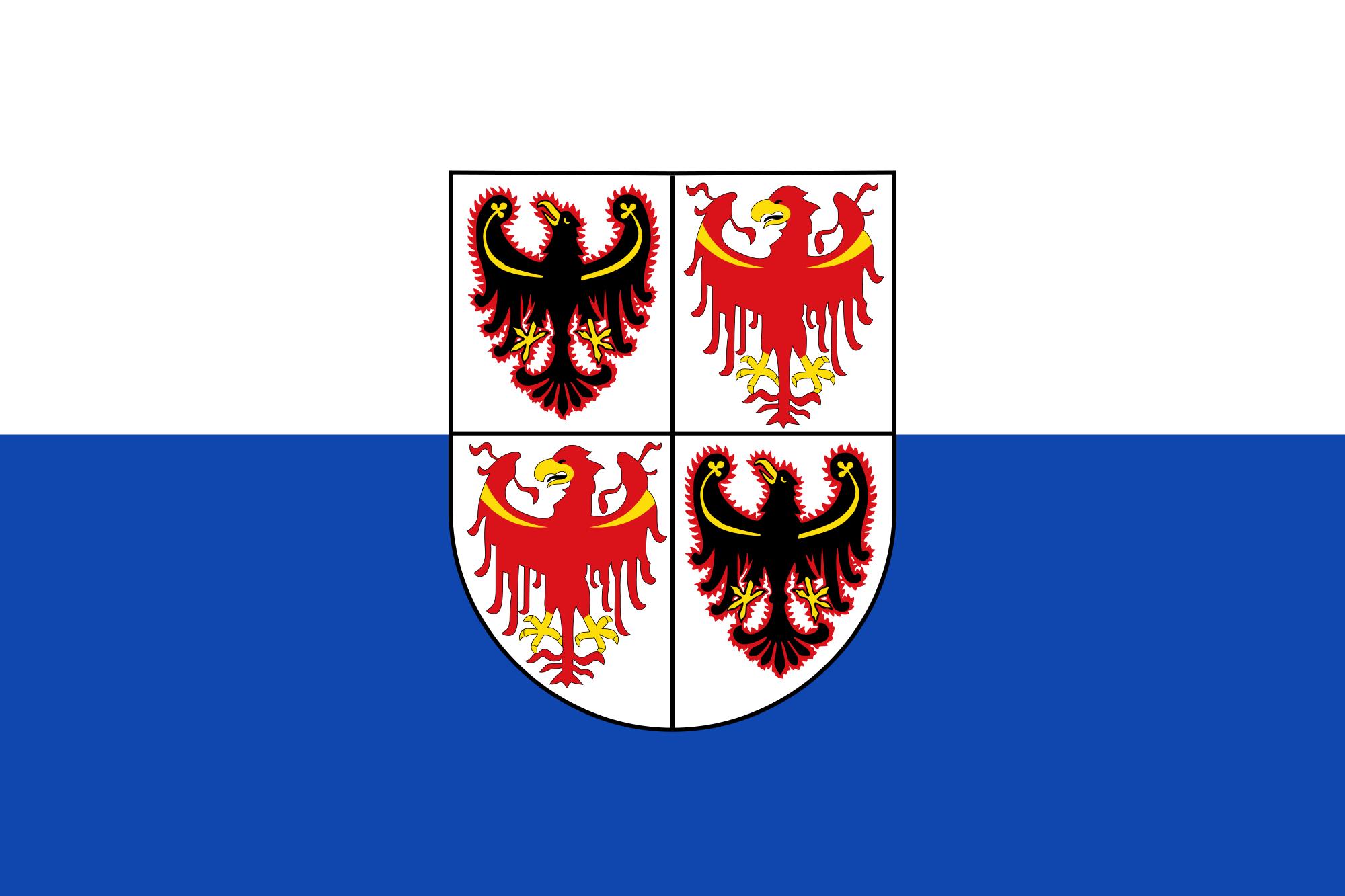 Bandiera del Trentino Alto Adige (wikipedia.org)