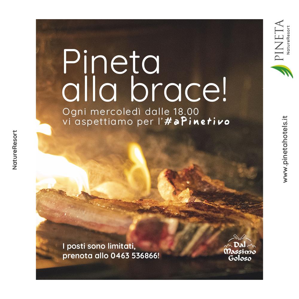 #PinetaallaBrace #TrentinoBarbecue
