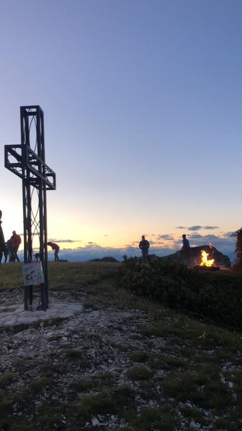 La croce di ferro del Monte Roen
