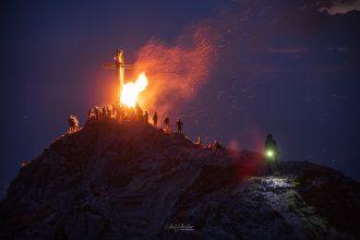 la magia dei fuochi del sacro cuor