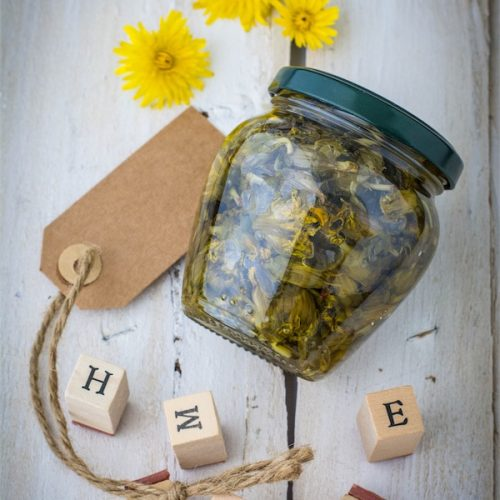 fiori-tarassaco-aceto-cucinare con le erge