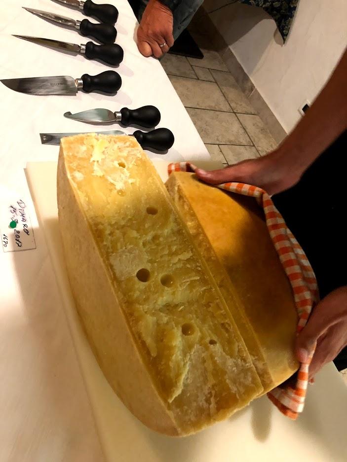 Ecco il colore del formaggio di malga