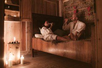 Relax in Malga al fieno-massaggio-coppia
