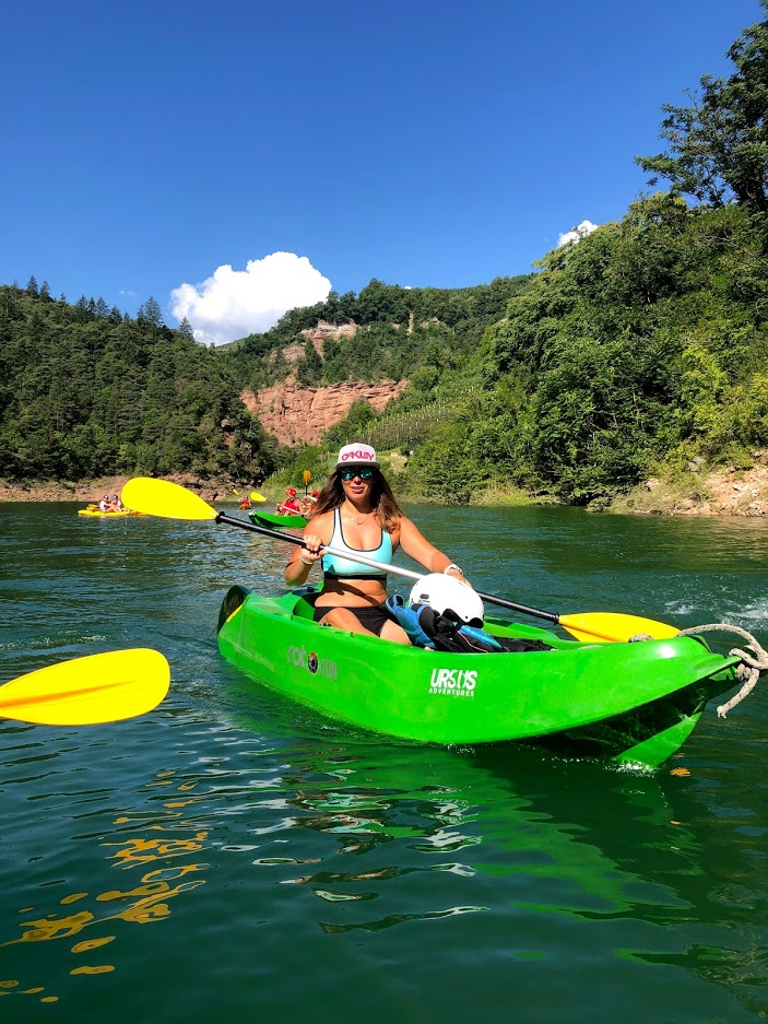 benedetta-canoa-lago-santa-giustina