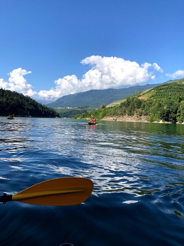 canoa-lago-santa-giustina-lago-vista-brenta