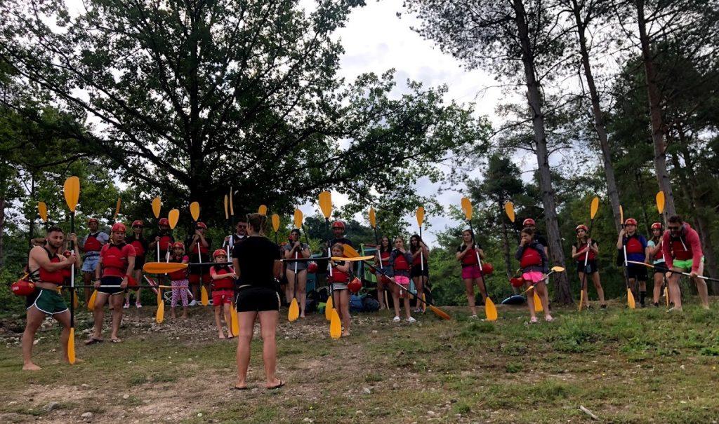 testata-benedetta-canoa-lago-santa-giustina-lesson-cayaking-